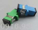 So sánh đầu adapter SC/UPC và adapter SC/APC