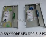 So sánh hộp phối quang ODF 8fo SC/UPC và 8 core SC/APC