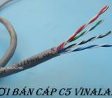 Địa chỉ bán cáp mạng cat5 UTP 4 đôi VINALAN giá rẻ - uy tín - chất lượng